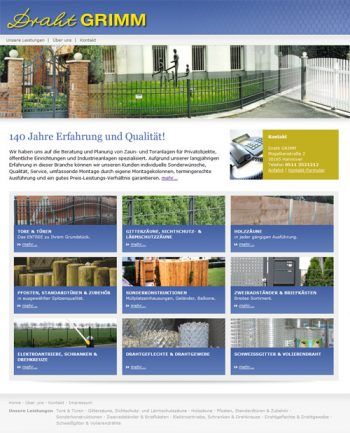 Zur Website von http://www.zaunbau-grimm.de/