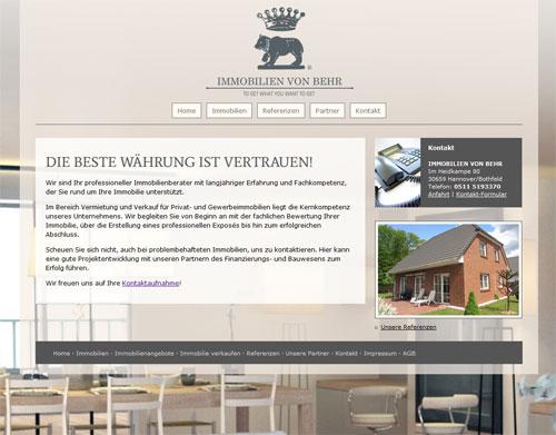 Zur Website von http://www.vonbehr-immo.de/